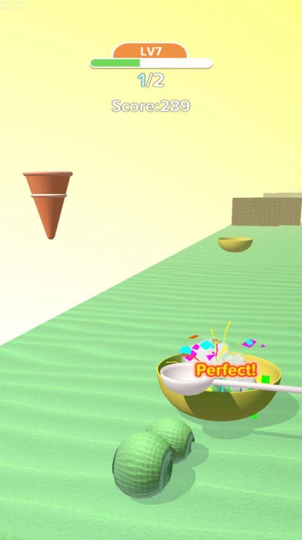 冰淇淋卷3D游戏安卓版图0