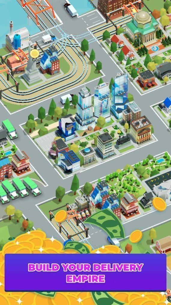 空闲送货城市大亨游戏官方版图片1