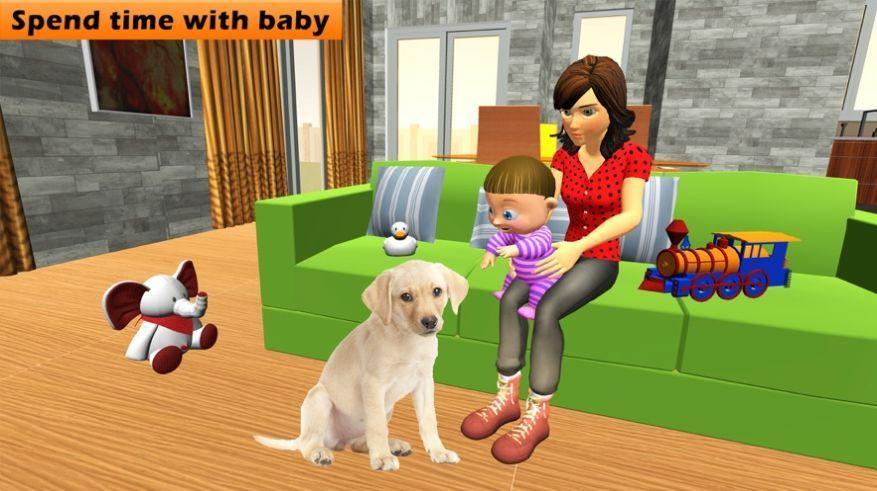 虚拟妈妈婴儿护理游戏汉化中文版图2