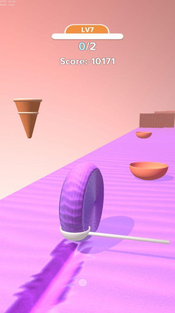 冰淇淋卷3D游戏安卓版图1