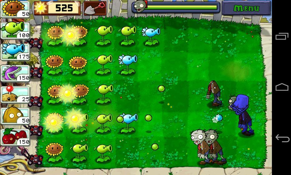 变异植物大战僵尸DS版下载最新破解版图3