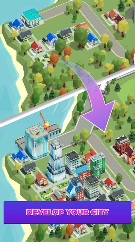 空闲送货城市大亨游戏官方版图1
