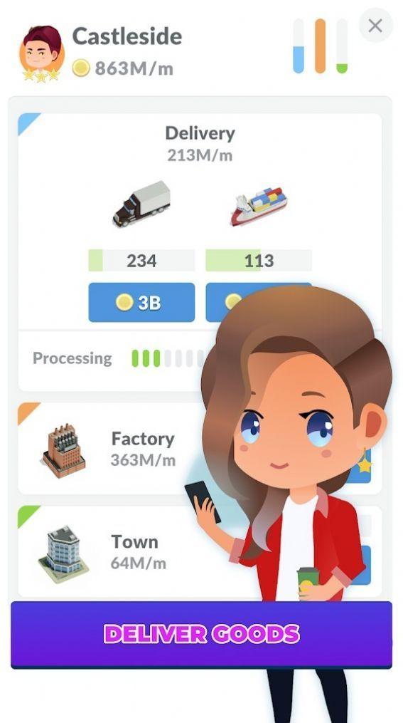 空闲送货城市大亨游戏官方版图0