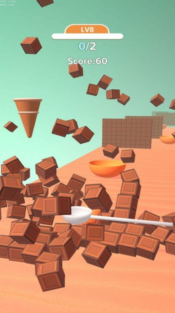 冰淇淋卷3D游戏安卓版图片1