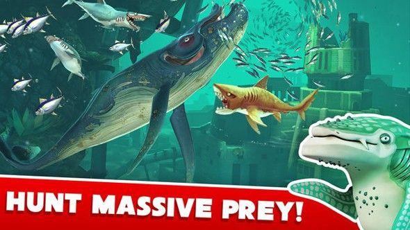 饥饿鲨世界2.7.2全道具解锁无敌版下载图0