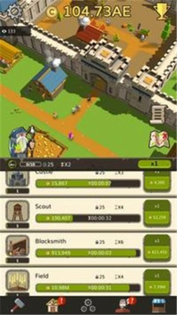 中世纪放置大亨游戏无限金币破解版图0