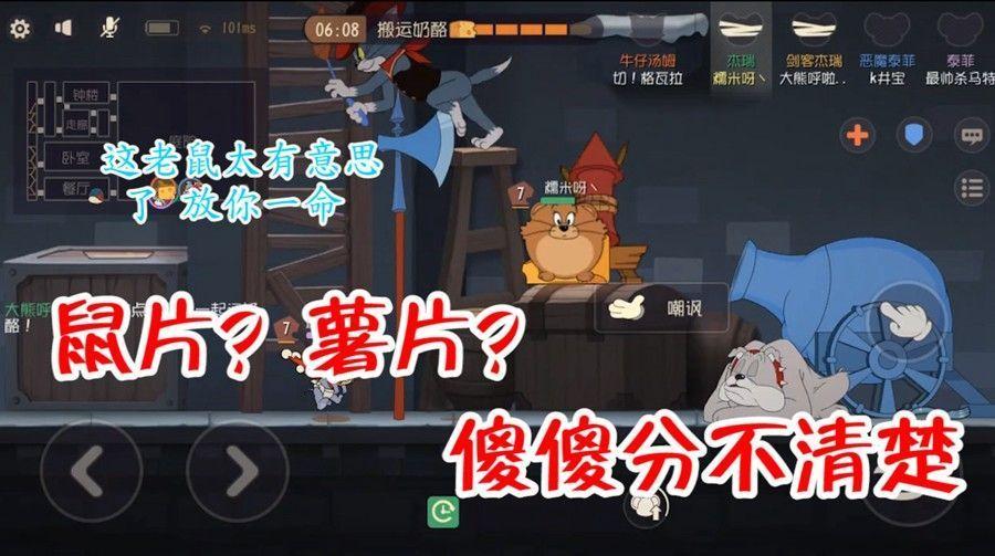 猫和老鼠:老鼠被苍蝇拍打扁还能嘲讽,汤姆看到后都不忍心下手了[视频][多图]图片1