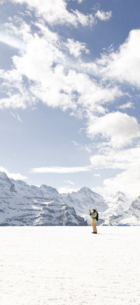小米MIUI12.5四姑娘雪山超级壁纸官方版图1