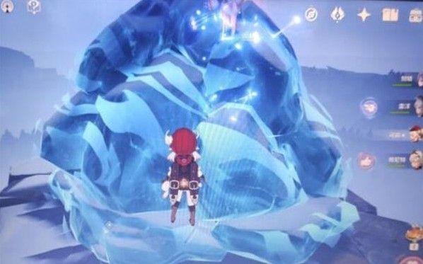 原神奇怪的冰怎么击碎?调查奇怪的冰打碎攻略[多图]图片1