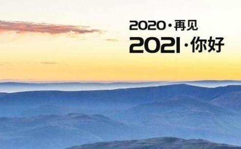 颤音再见2020你好2021图片九宫格素材大全图3