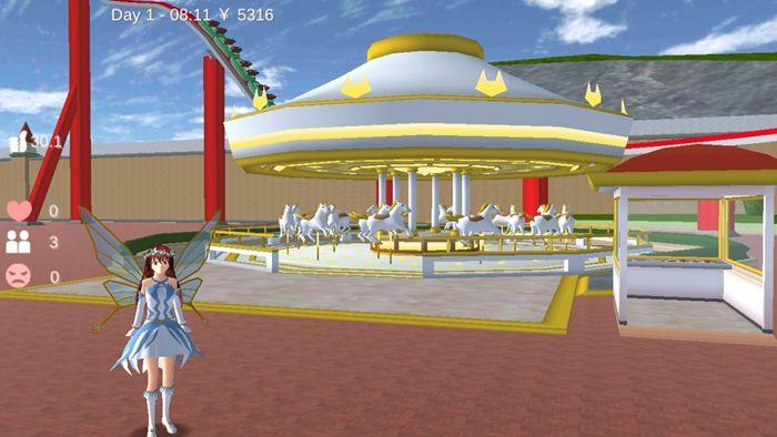 樱花校园模拟器仙子衣服版本1.038.01中文无广告正版图0