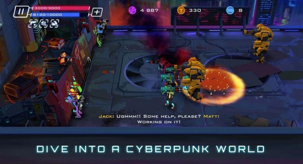 起义赛博朋克游戏安卓中文版图片1