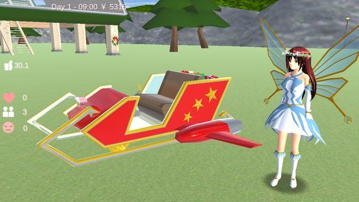 樱花校园模拟器仙子衣服版本1.038.01中文无广告正版图3