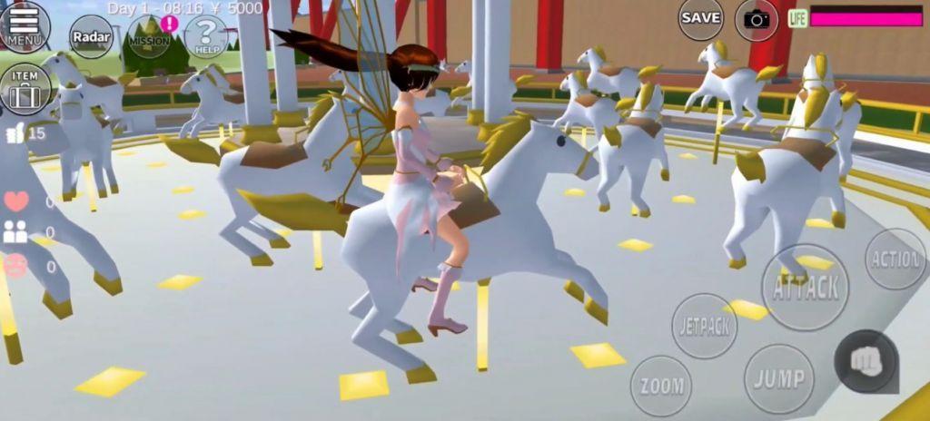 樱花校园模拟器1.038.01圣诞节版本追风汉化中文版图2