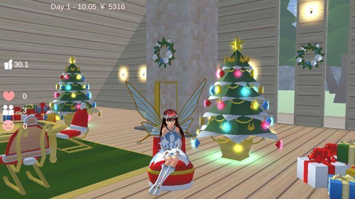 樱花校园模拟器仙子衣服版本1.038.01中文无广告正版图片1