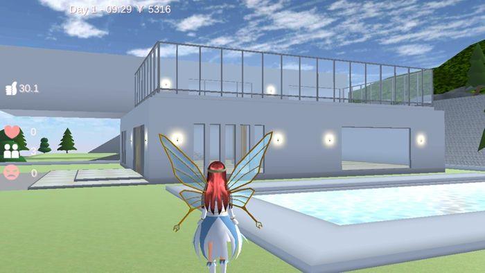 樱花校园模拟器仙子衣服版本1.038.01中文无广告正版图2