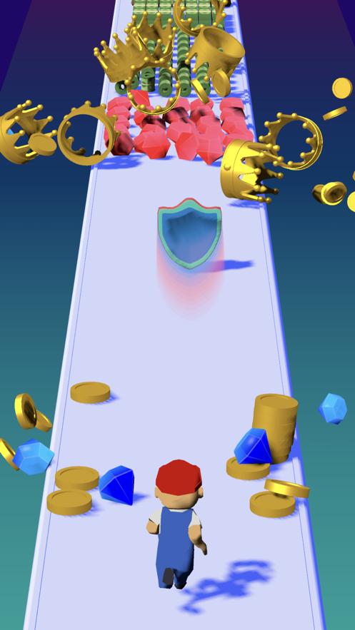 用盾牌保护勇往直前者游戏安卓版图1
