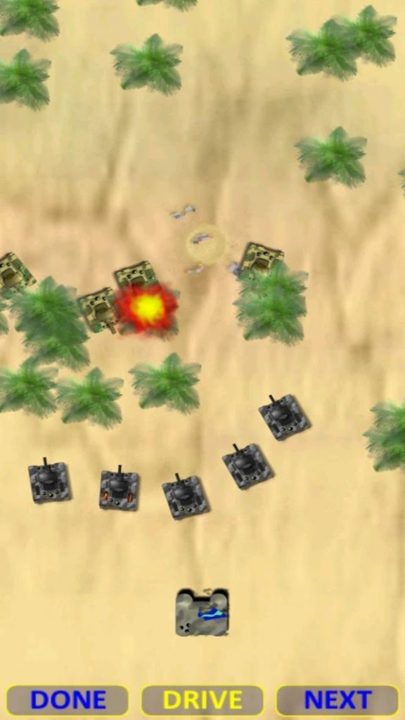 沙漠坦克大战游戏安卓手机版图0