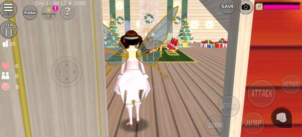 樱花校园模拟器1.038.01圣诞节版本追风汉化中文版图0