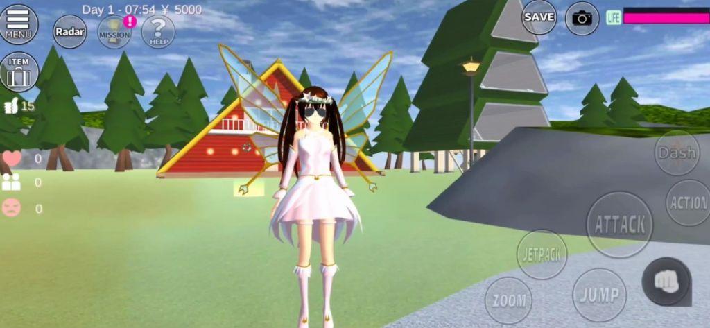 樱花校园模拟器1.038.01圣诞节版本追风汉化中文版图1