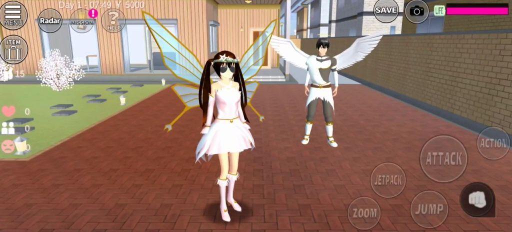 樱花校园模拟器1.038.01圣诞节版本追风汉化中文版图3