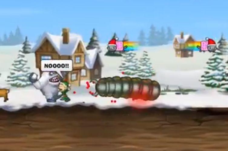 屌德斯解说圣诞蠕虫游戏官方正式版图0