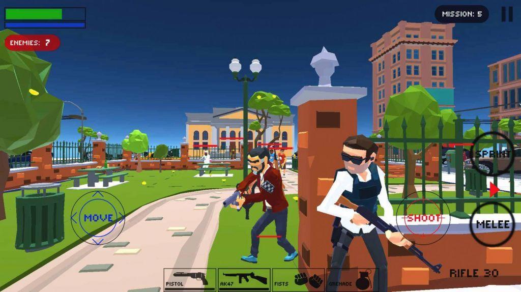 城市警察掩护射击游戏官方手机版图1