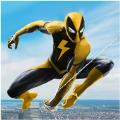 黄色蜘蛛英雄无限金币内购破解版