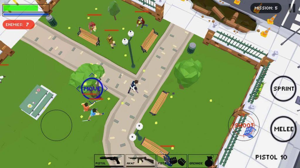 城市警察掩护射击游戏官方手机版图3
