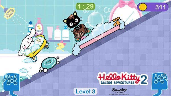 凯蒂猫与美乐蒂的飞行冒险安卓无广告破解版图3