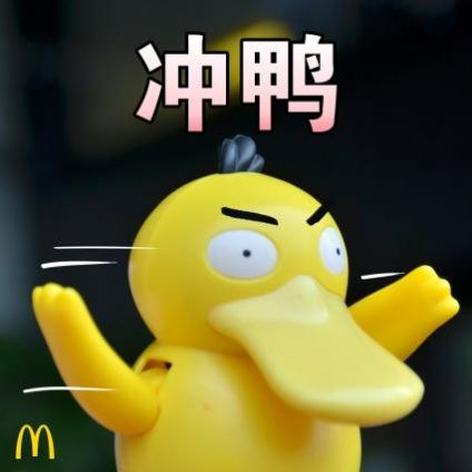 抖声捉鸭 抓几个表情包 大图下载图1