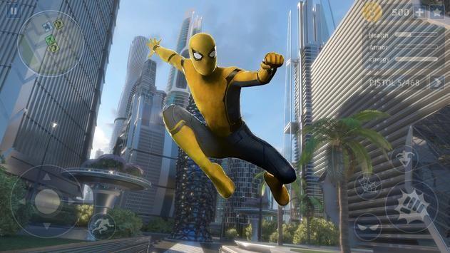 黄色蜘蛛英雄无限金币内购破解版图片1