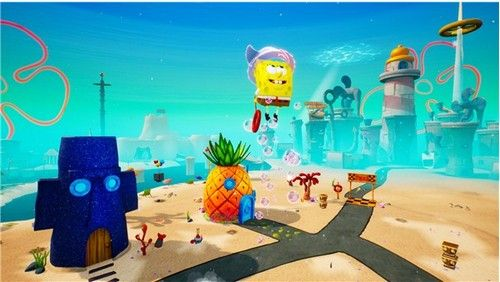 海绵宝宝比奇堡的冒险手机移动版官方版图片1