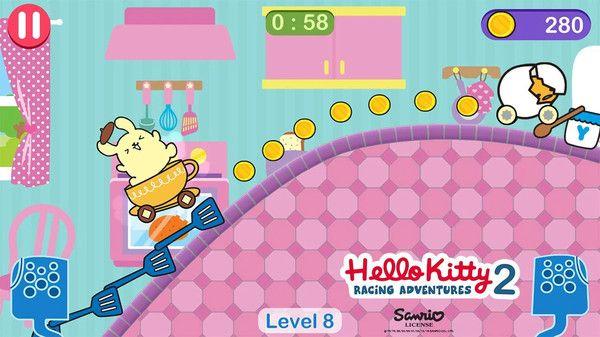 凯蒂猫与美乐蒂的飞行冒险安卓无广告破解版图0