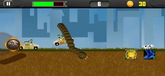 飞行死亡蠕虫游戏中文完整版破解版下载图1