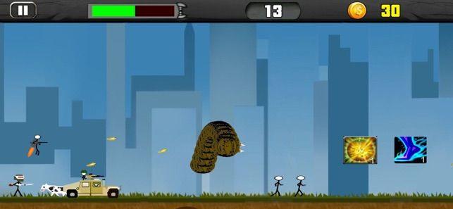 飞行死亡蠕虫游戏中文完整版破解版下载图4