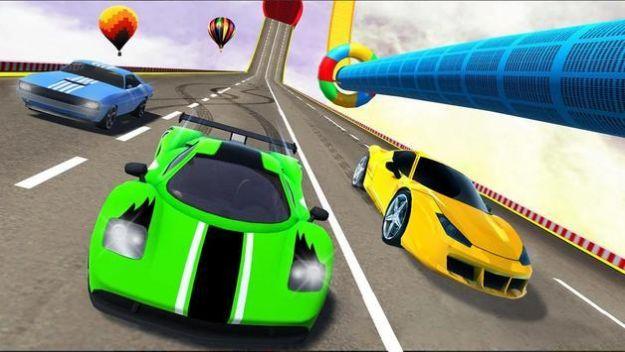 特技坡道车跳游戏安卓版图1