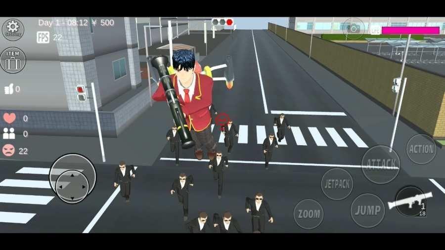 樱花校园模拟红包版五一更新版本图2
