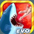 饥饿鲨进化8.0.1内购修改版安卓中文版全鲨鱼解锁版本下载