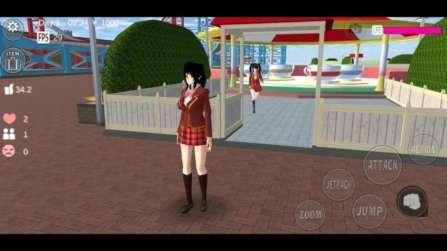 樱花校园模拟红包版五一更新版本图1