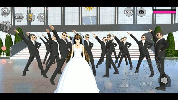 樱花校园模拟器国王版中文最新版图0