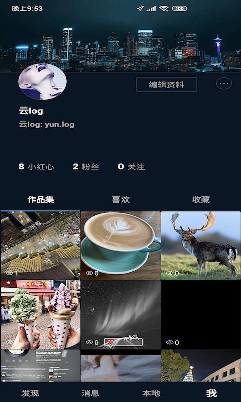 云log社交图0