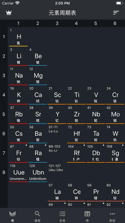 元素周期表2021专业版高清带拼音图5